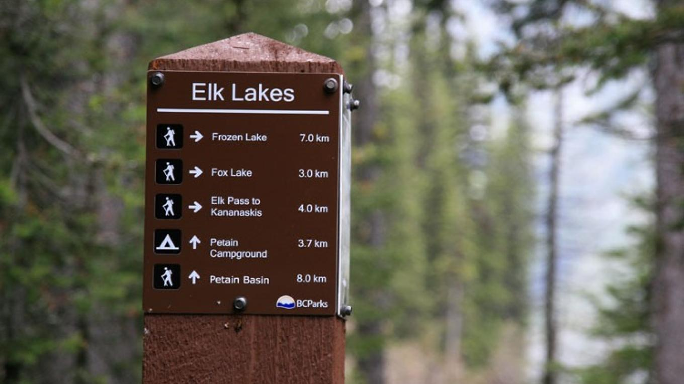 Elk Lakes offers a variety of experiences including some maintained trails. – Jomac Photography