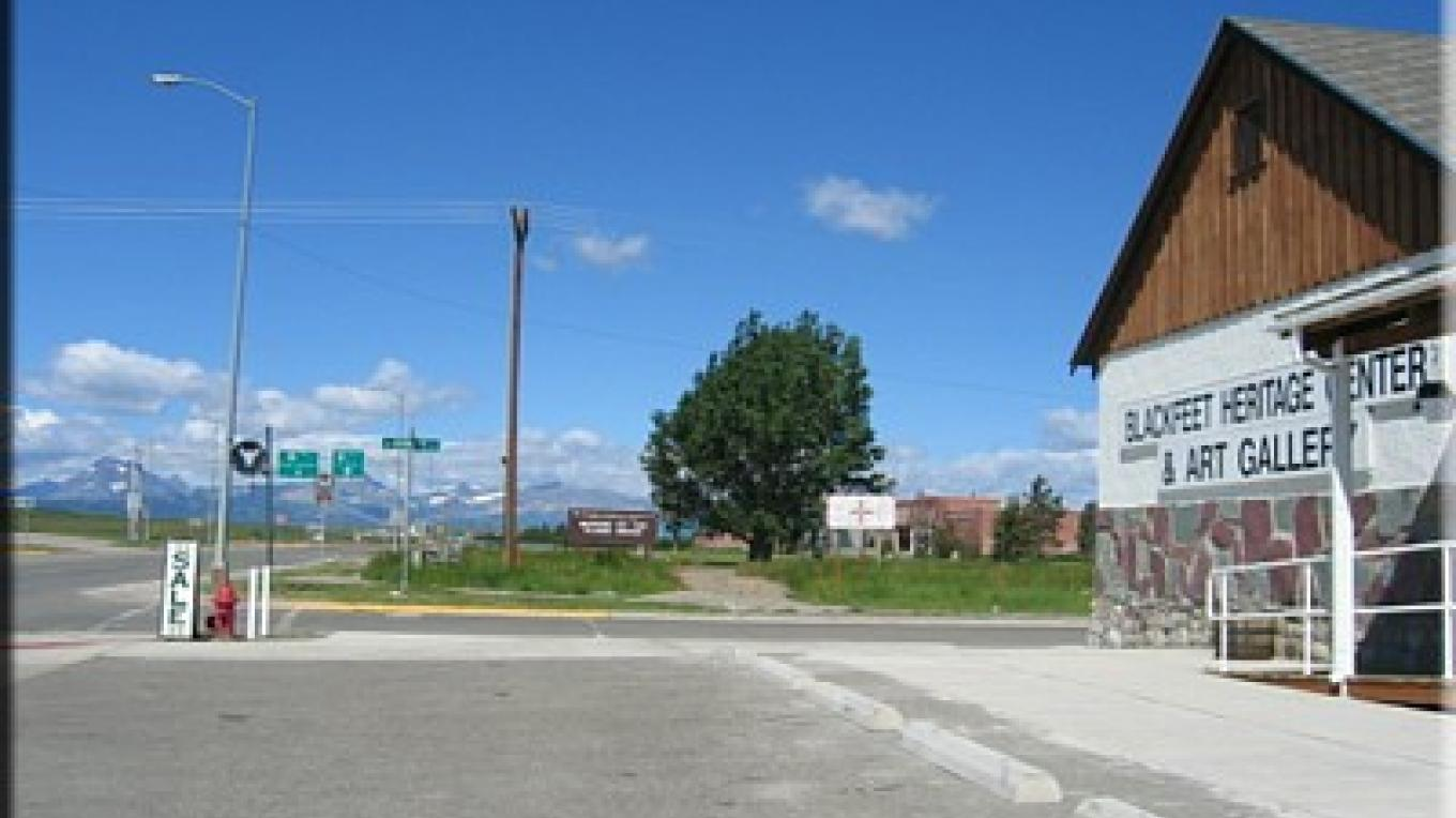 The Blackfeet Heritage Center & Art Gallery is within walking distance of the Museum of the Plains Indian. – Colleen's Computer Corner, LLC