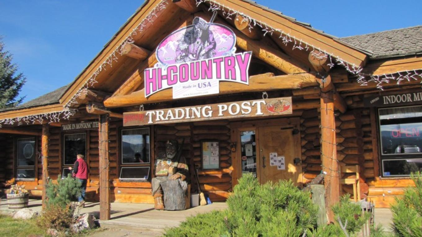 Hi-Country Trading Post in Lincoln, MT.