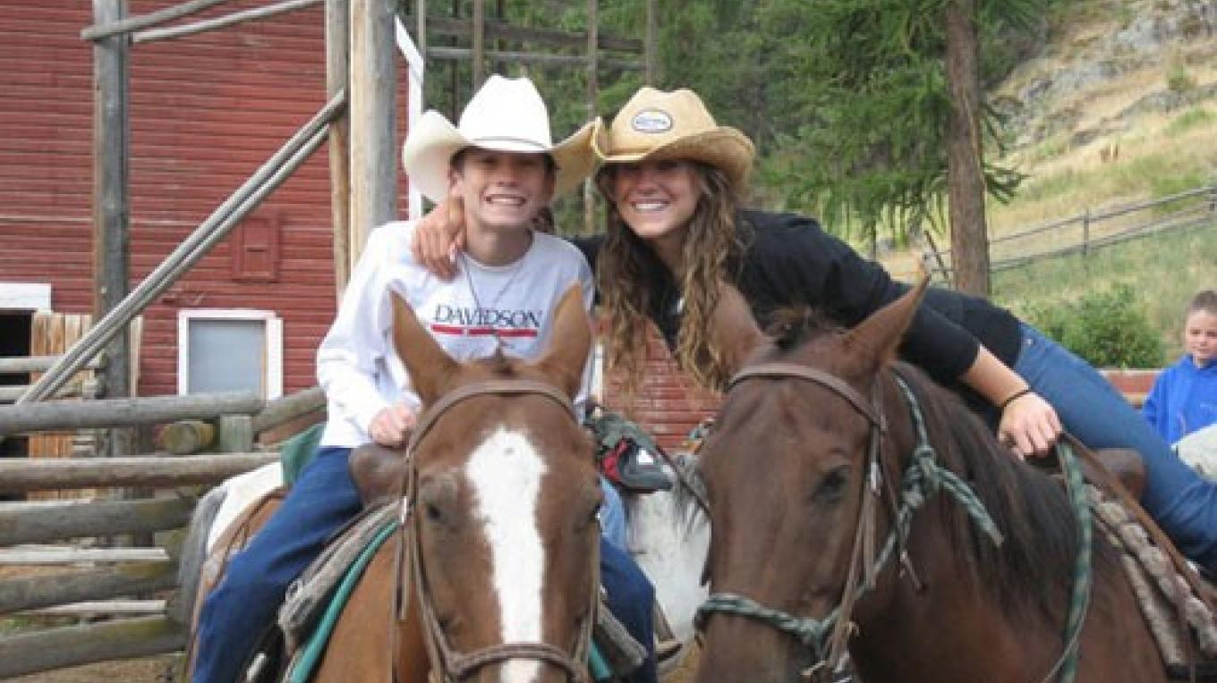 The riding program is designed for kids of 6 years and older. – April Beckley