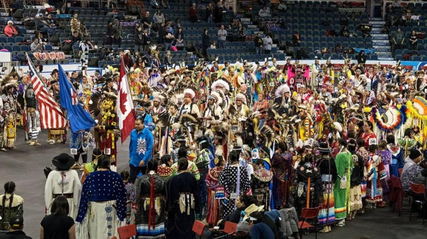 International Peace Pow Wow – Trevor Page