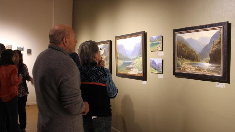 Ten Days Exhibit – Courtesy Hockaday Museum