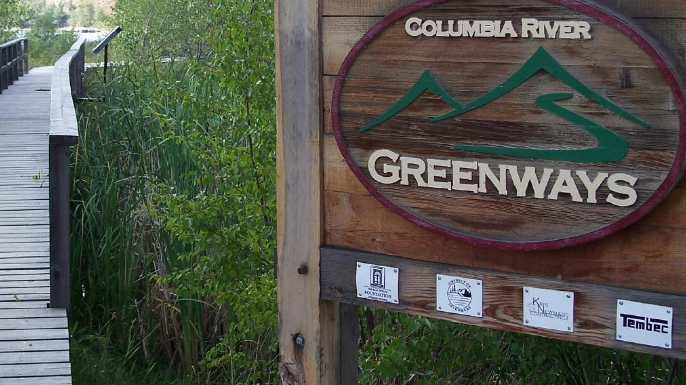 An elevated boardwalk carries you over the Columbia Wetland – Nick Berzins