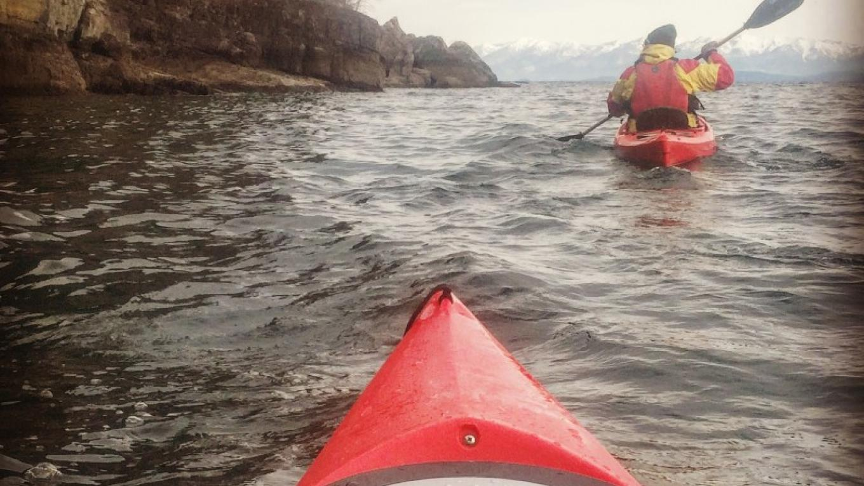 Paddling on Flathead Lake – Courtesy Base Camp Bigfork