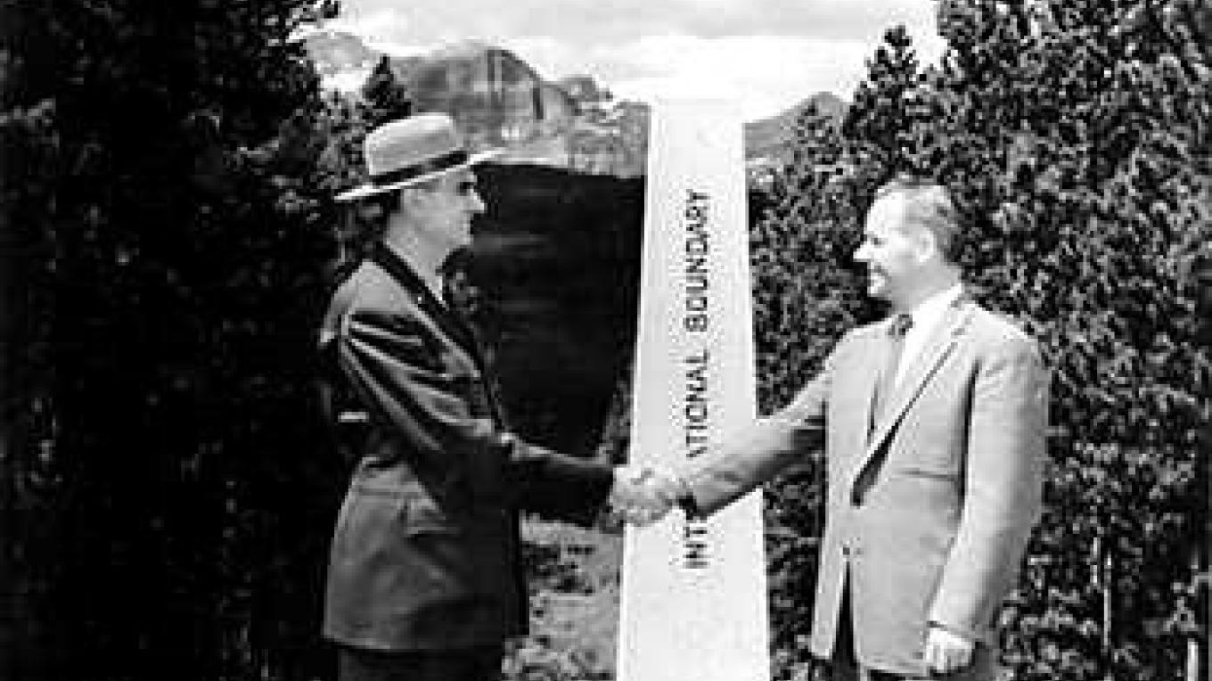 Glacier and Waterton were joined as the world's first international peace park in 1932 – Steve Thompson