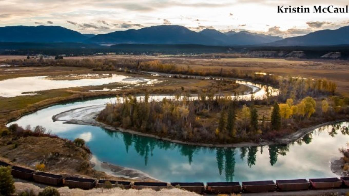 Columbia Valley Wetlands from Radium lookout. – Kristin McCauley