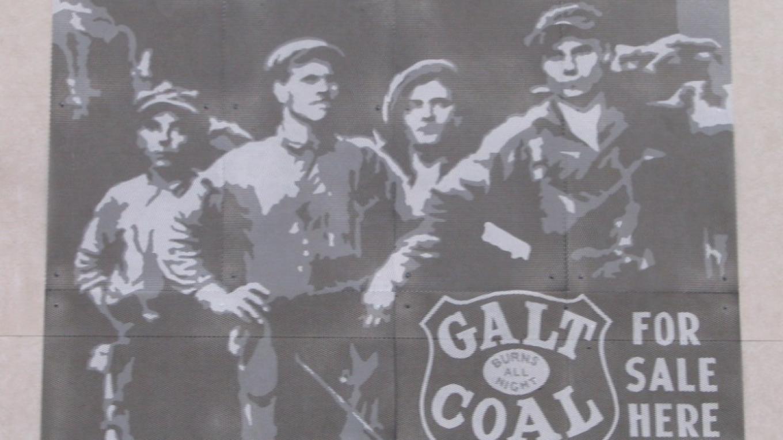 recreation of an early  Coal advertisement – gwd   G.Wayne Dwornik