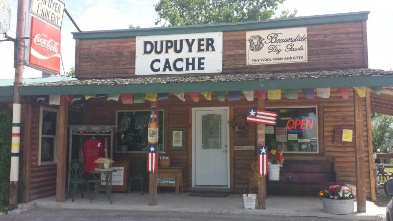 Look for the Cache in Dupuyer. – Sheena Pate