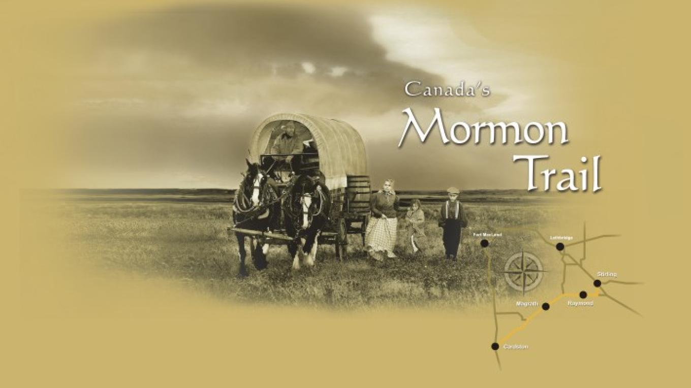 Alberta's Mormon Trail Map – Star Media Services