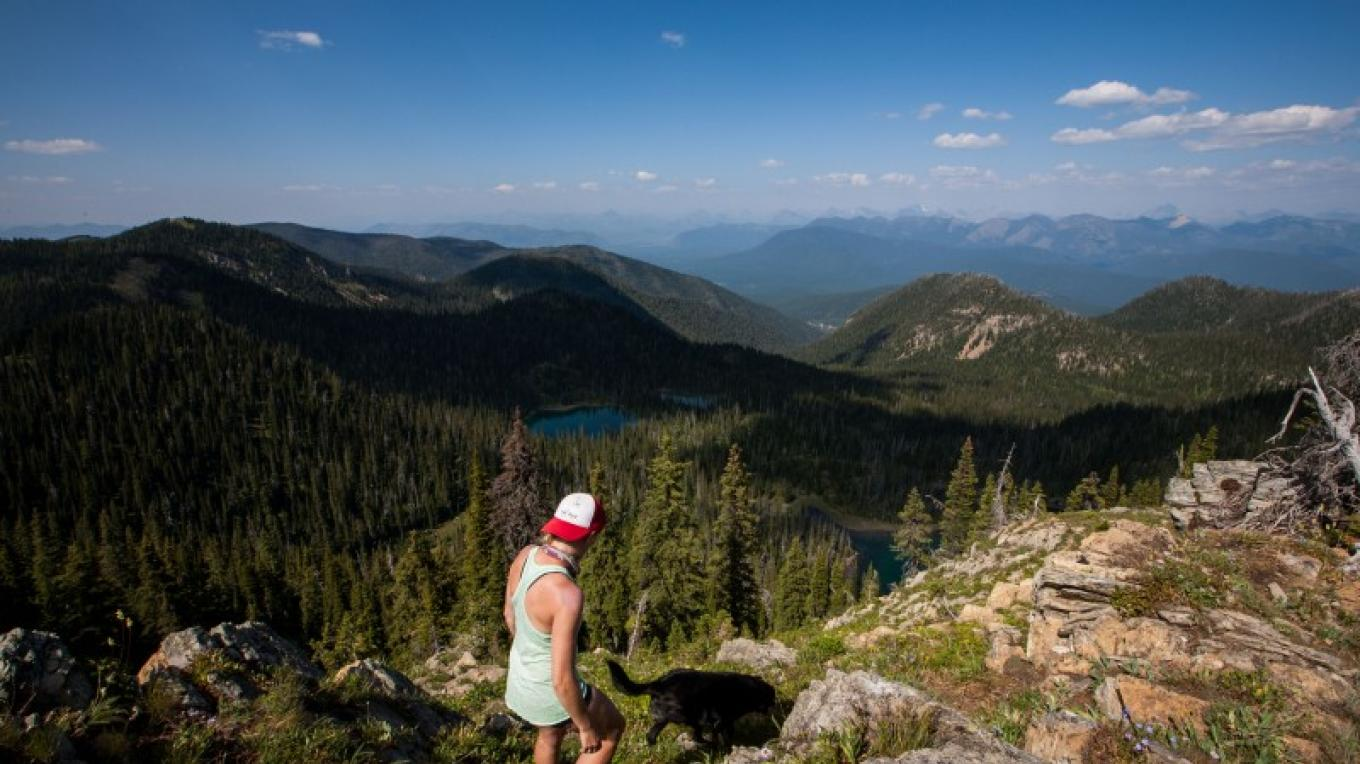Summit of Doris Mountain overlooking Doris Lakes. – Sheena Pate