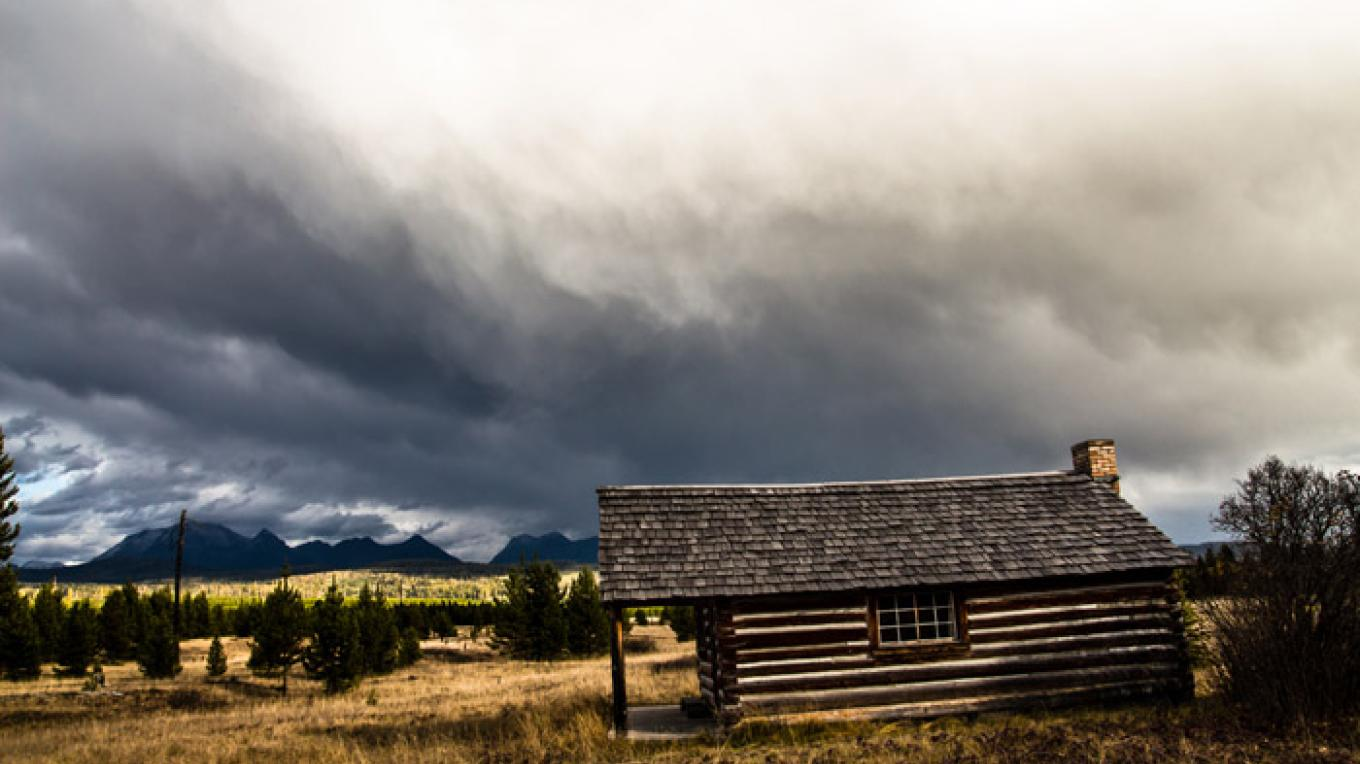 Homestead along the North Fork of the Flathead River. – Just Your Average Weekend Photography - Adam Birely
