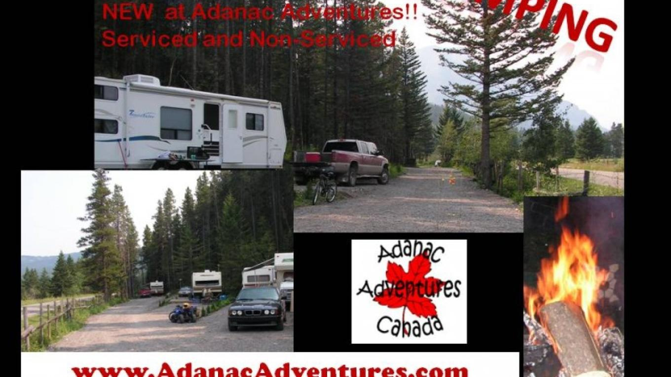 Adanac Adventures Cabins & Camping Campground picture – Val Gingrich