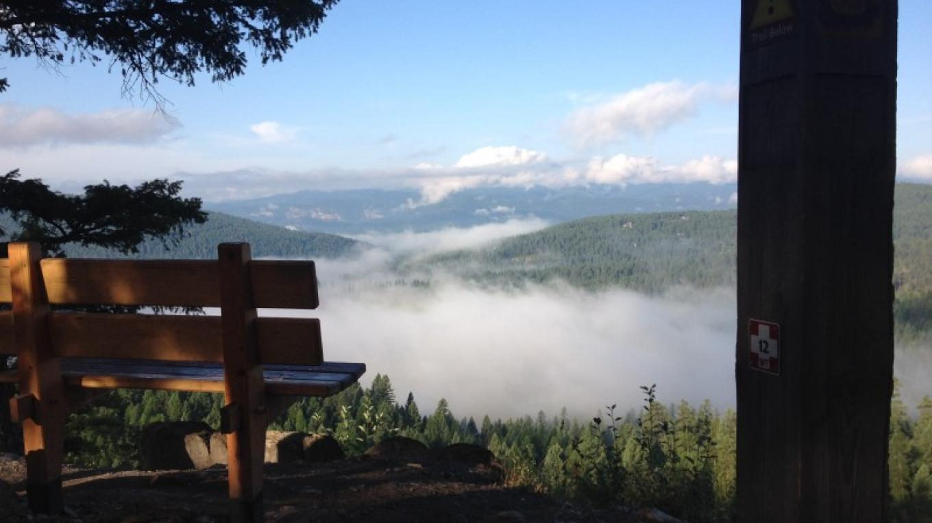 The Whitefish Trail- Lion Mountain Section