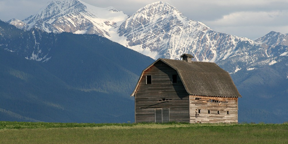 A view of the Mission Mountains outside of Ronan, Montana. – Dylan Boyle
