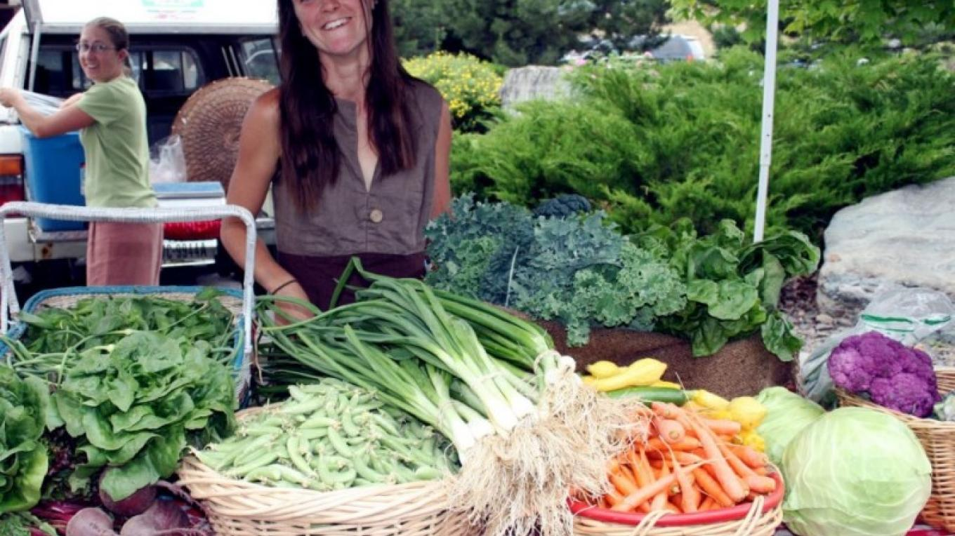 Local growers come out with great produce! – John Frandsen