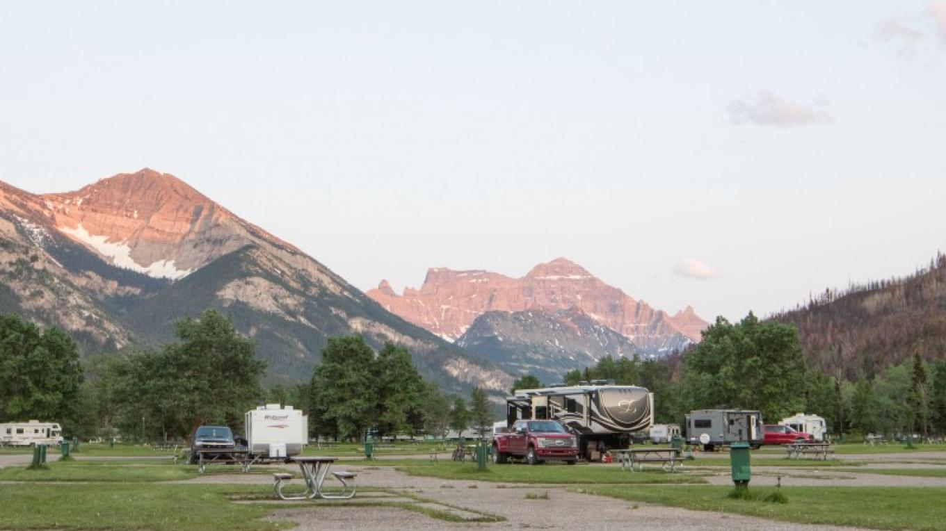 Townsite Campground- full-service sites – Sheena Pate