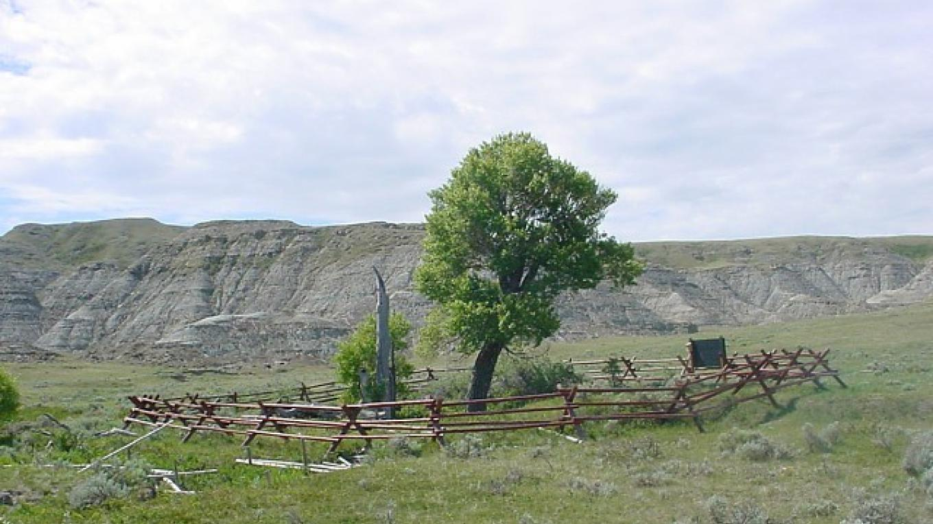Actual site of the Corp of Discovery's encounter with the Blackfeet (Pikuni) in 1806 – Stew Miller