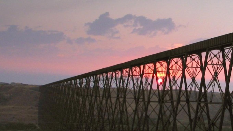 High Level Bridge at dusk October – G. Wayne Dwornik