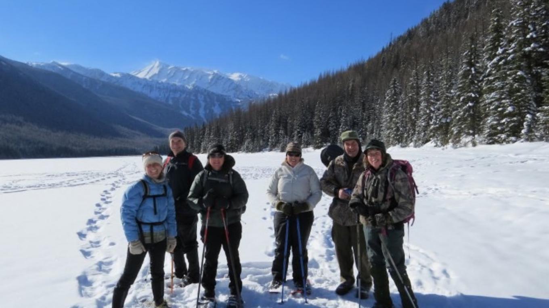Stanton Lake Snowshoe