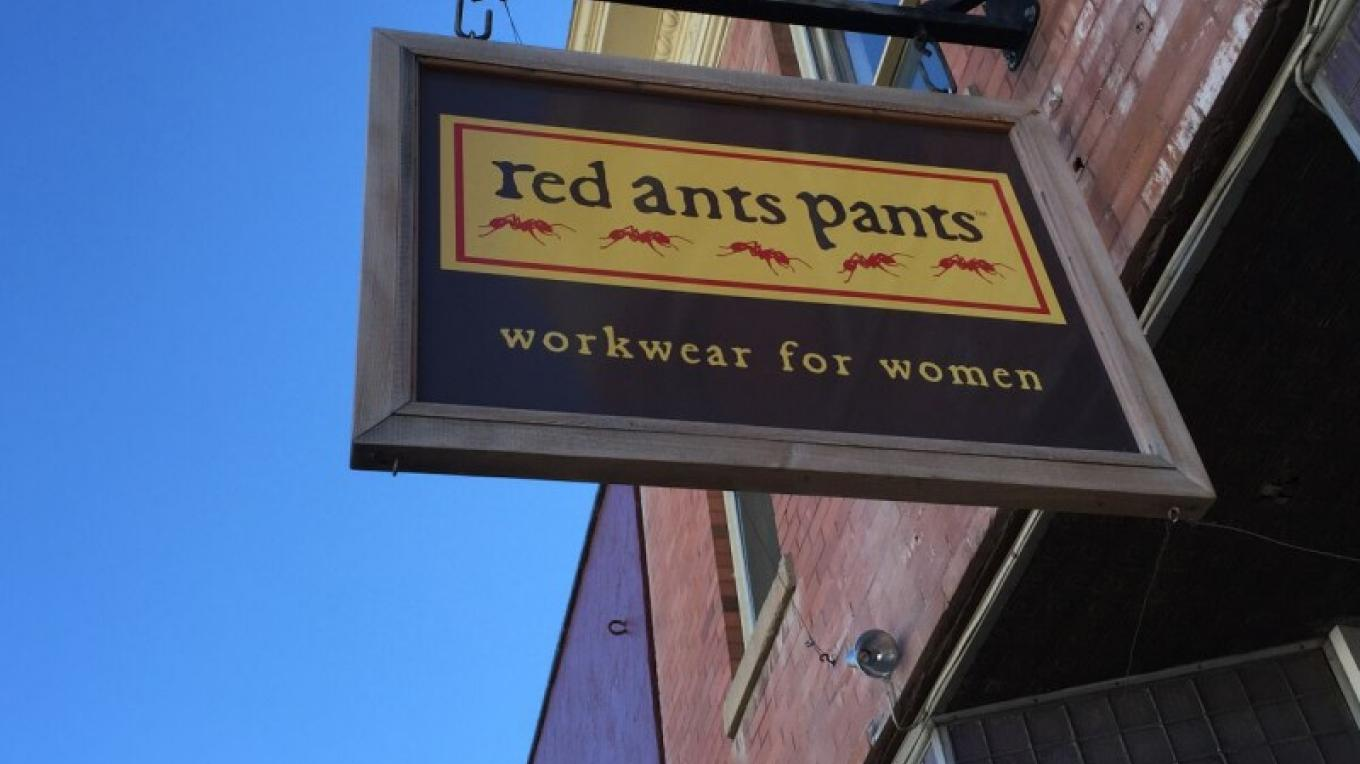 Red Ants Pants Main Street White Sulphur Springs. – Central Montana