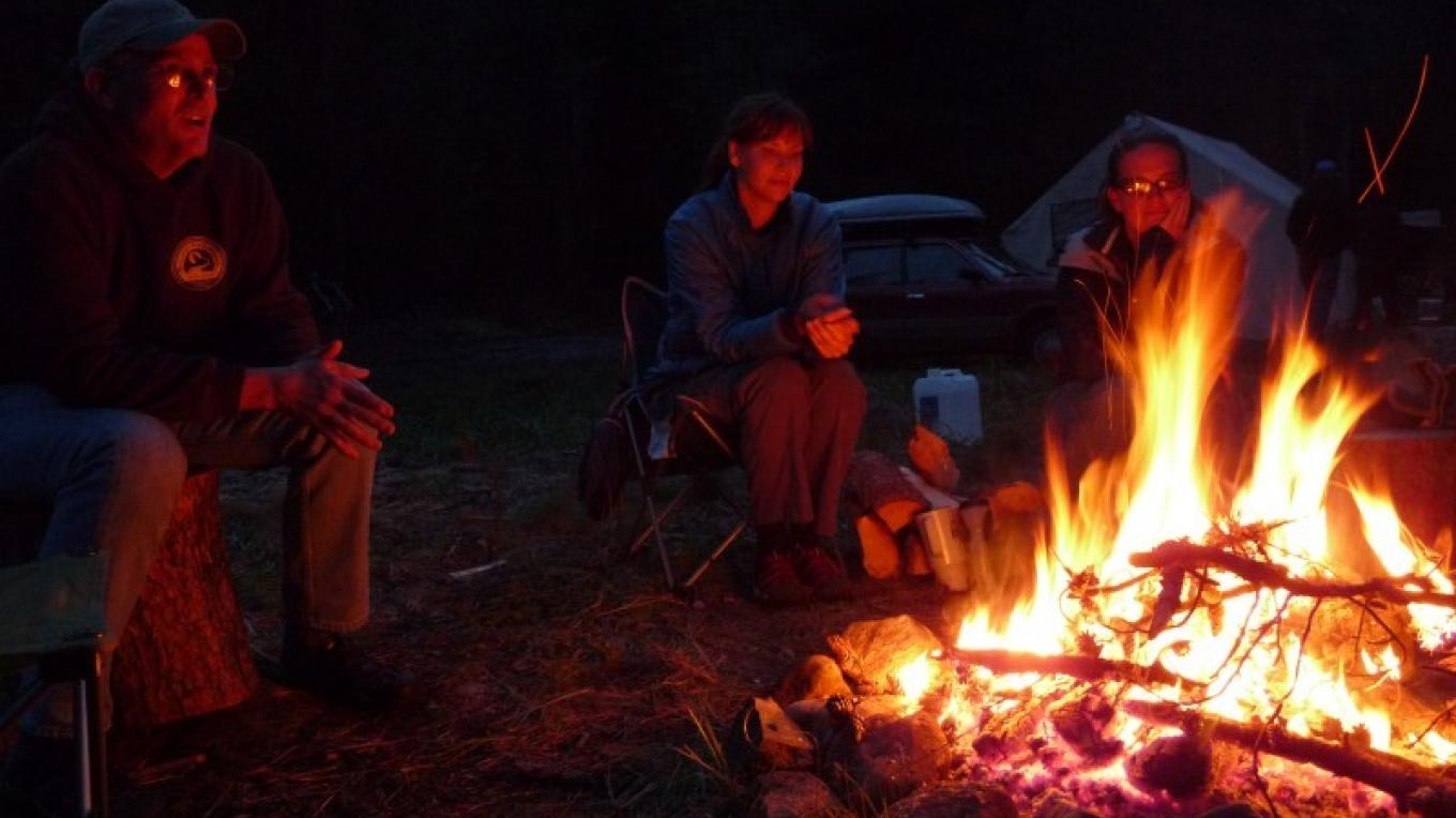 It's not just about trail work, either. Don't forget the friends, campfires, good eats and laughs.