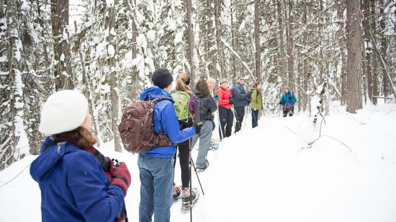 Wilderness snowshoe with Ellen Horowitz – Heather Luedke