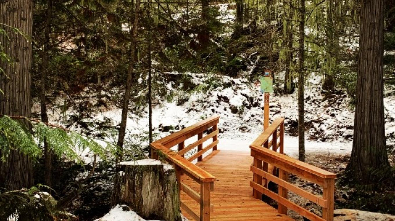 THE WHITEFISH TRAIL- BIG MOUNTAIN TRAILHEAD – Courtesy Whitefish Legacy Partners