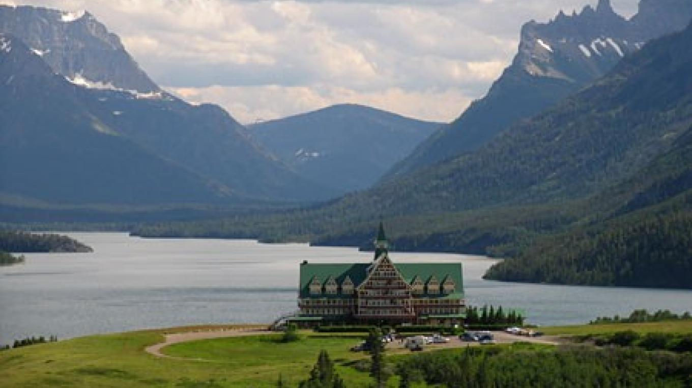 Prince of Wales Hotel in Waterton National Park once catered to Prohibition evaders ferried across the lake from Montana. – David Thomas