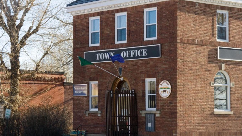 Historic Town Office – Courtesy AlbertaSW
