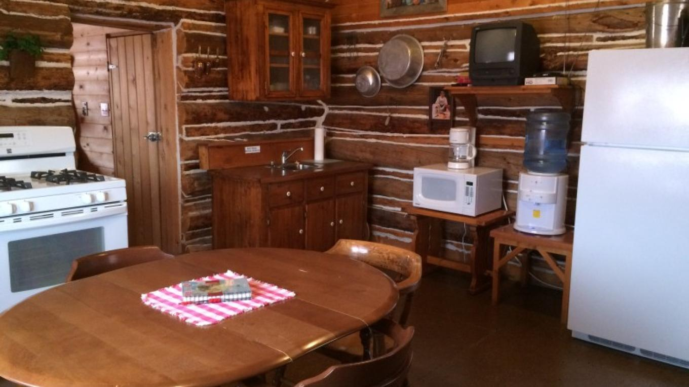 """Homesteader"" Cabin – Ginny Donahue"
