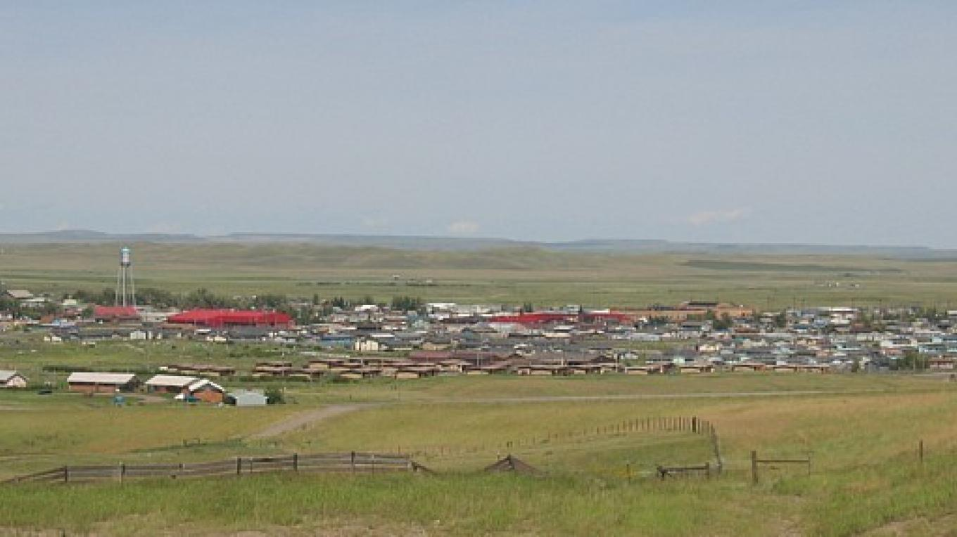 Browning Montana northeast from Snowshed Hill – Colleen's Computer Corner, LLC