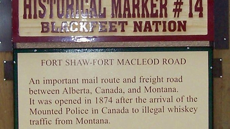 Fort Shaw-Fort Macleod Road – Blackfeet Planning