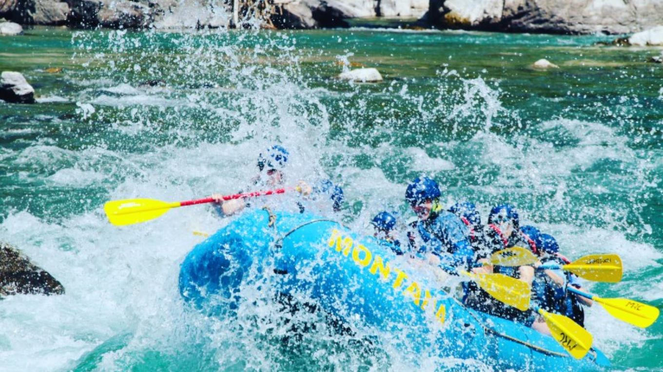 Whitewater rafting on the Middle Fork of the Flathead is an adventure you'll remember forever.