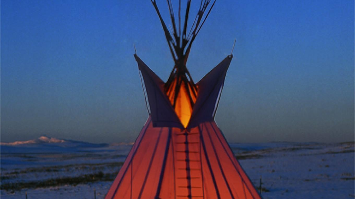 Blackfoot Tipi Village near Browning – Angelika Harden-Norman
