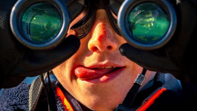 Binoculars – Pat Morrow