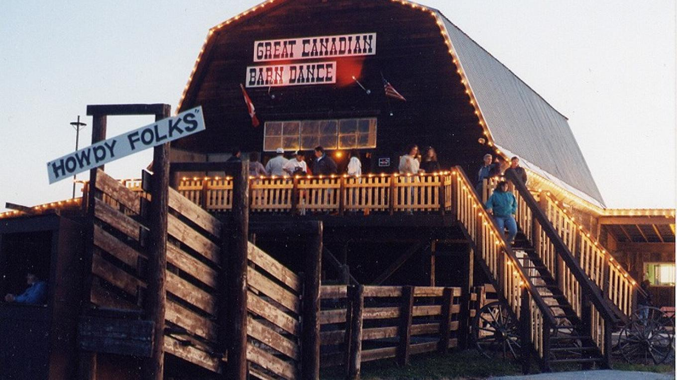 The Barn at The Great Canadian Barn Dance and Family Campground. – Courtesy GCBD