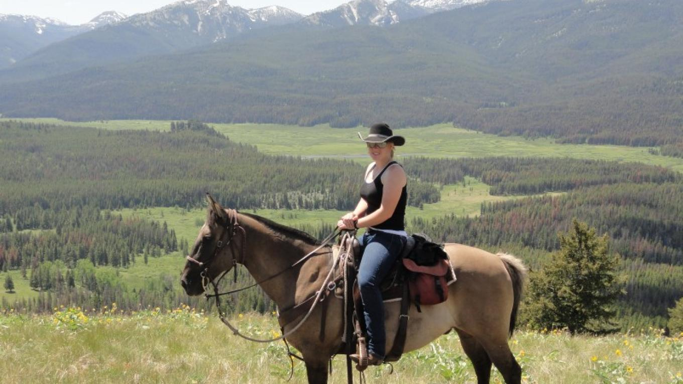 Riding in the heart of the Wilderness - Danaher Meadows – Rich Ranch