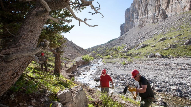 Bob Marshall Wilderness Foundation offers memorable volunteer opportunities. – Sheena Pate
