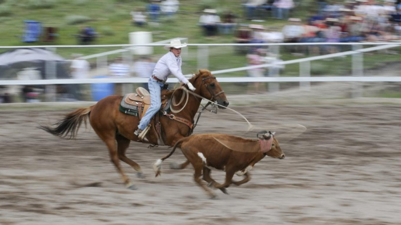 The Annual Lincoln Rodeo takes place over Independence Day weekend. – Roger M. Dey