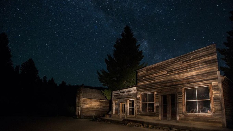 Garnet Ghost Town, Montana – Photograph by Bureau of Land Management/wikimedia.org