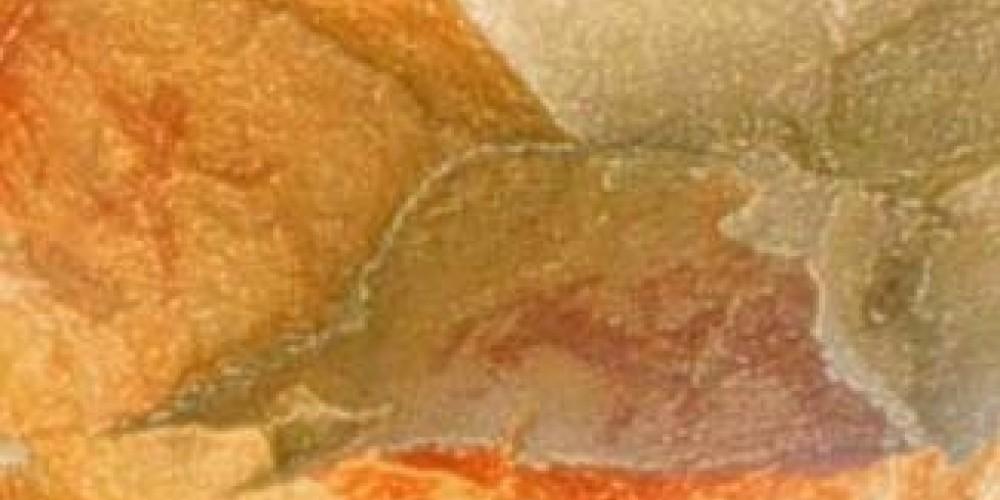 Mountain sheep and human figures are among the rock art found along the Sun River. – Paul Raczka
