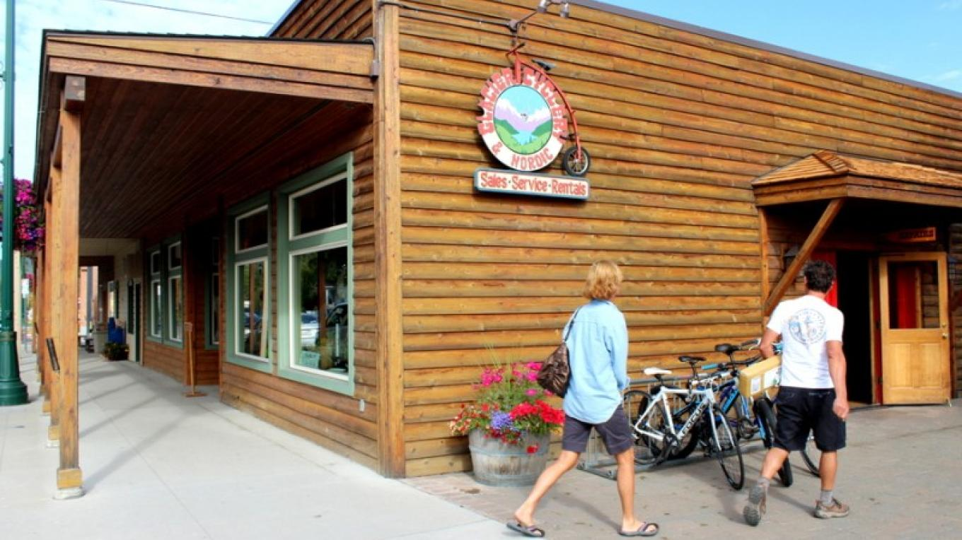 Glacier Cyclery & Nordic located in downtown Whitefish, MT. – Sheena Pate