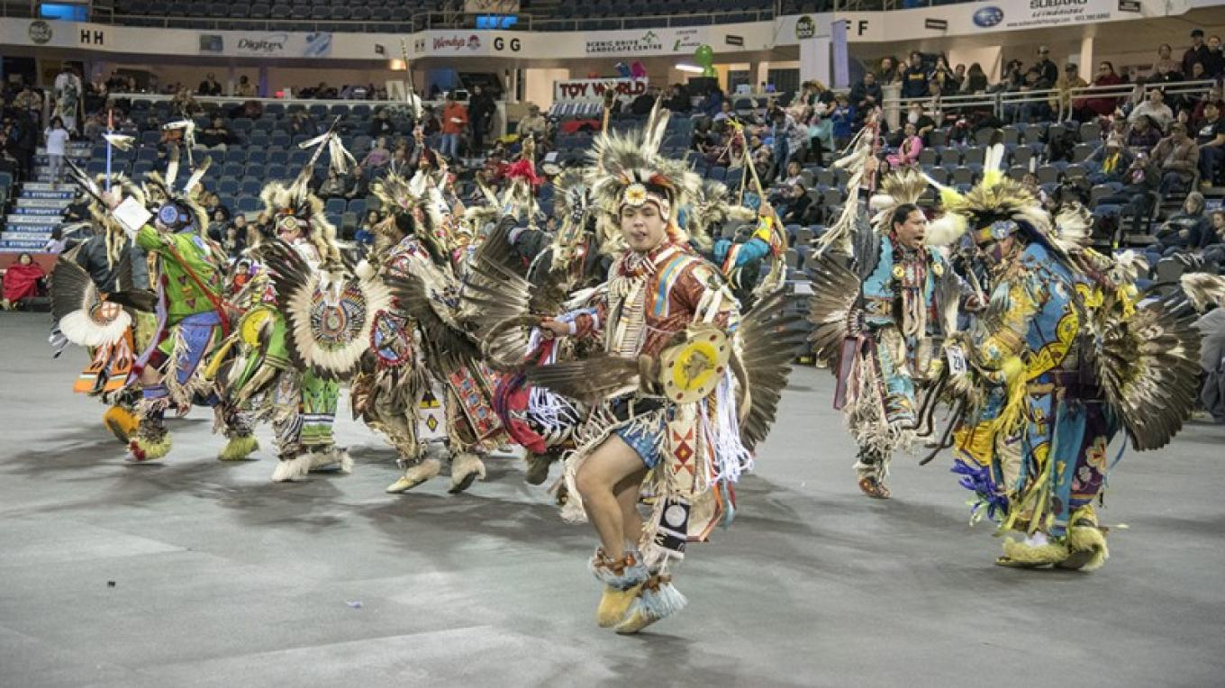 International Peace Pow Wow 2018 – Trevor Page