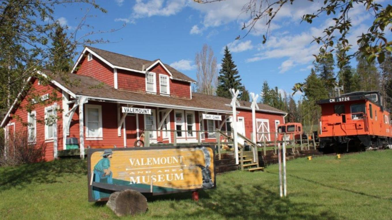 Enjoy a walk back in time and visit the Valemount Museum. – Courtesy Columbia Basin Culture Tour