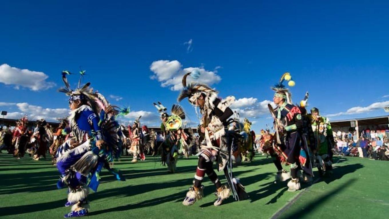 Opening ceremony at North American Indian Days in Browning – Tonybynum.com