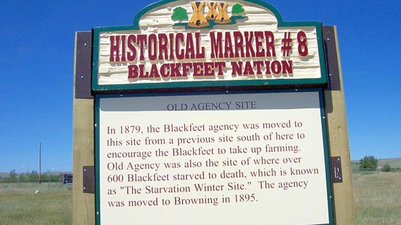 Old Agency Site – Blackfeet Planning