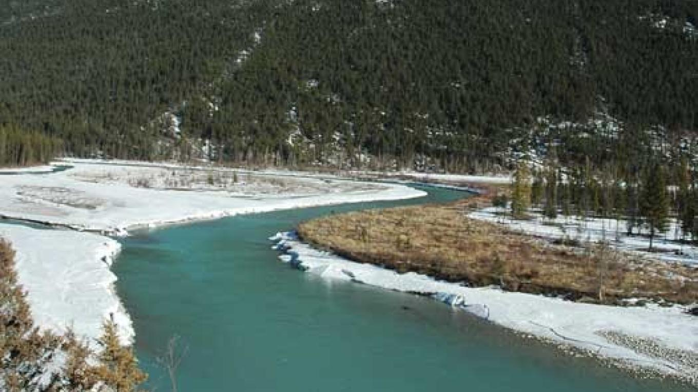 The Kootenay River is scenic at all times of the year. – Ian Cobb