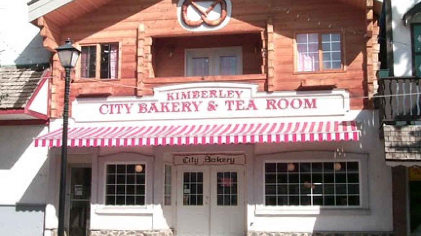 The City Bakery is a wonderful place to stop for lunch or a coffee break.