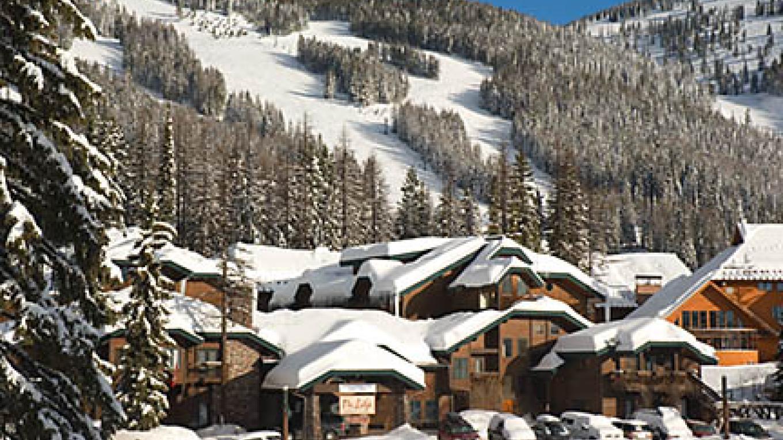 Kandahar Lodge - ski home in winter – Heidi Long