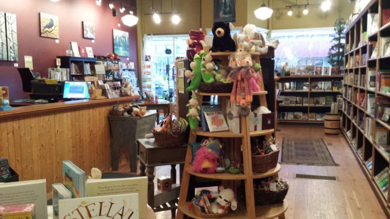 Polar Peek Books on Victoria Avenue in Fernie, B.C